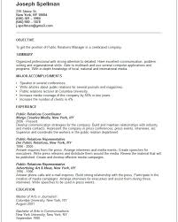 relations resume template professional sle resume for relations manager vinodomia