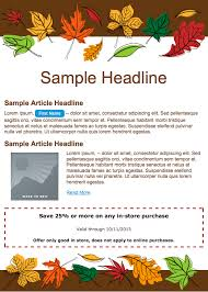 27 images of thanksgiving marketing template learsy