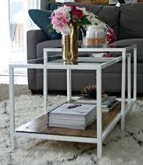 Nest Chair Ikea White Living Room Decor Ikea Coffee Table Hack Vittsjo Nesting
