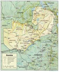 Travel Weather Map Zambia Maps Perry Castañeda Map Collection Ut Library Online