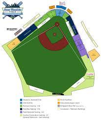 Hillsboro Oregon Map by Seating Chart Hillsboro Hops Ron Tonkin Field