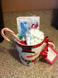 snowman soup chocolate recipe and gift idea