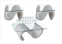 modern glass side table modern line furniture commercial furniture custom made