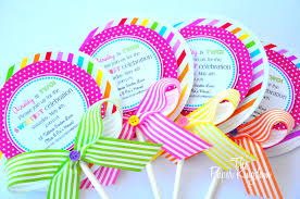 candyland birthday party ideas lollipop invitations candyland lollipop invitations