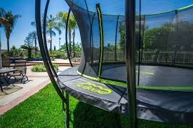amazon black friday trampoline stratos 14 ft trampoline with full enclosure