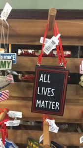 all lives matter u0027 ornament at minnesota gardening center sparks