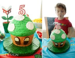 a super mario 5th birthday