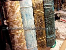 make best things faux antique book storage boxes