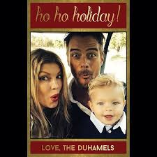 celebrity holiday cards 2015 popsugar celebrity