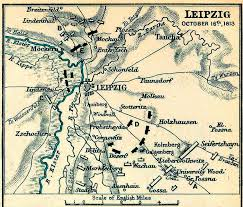 map of leipzig avon napoleonic fellowship guest 6 leipzig day one