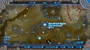 Map The Meal Gap Zelda Breath Of The Wild Champions U0027 Ballad Dlc Guide Ex Royal
