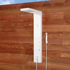 outdoor showers pool showers shower kits signature hardware