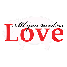 all you need is love wall vinyl wall art hawgee all you need is love