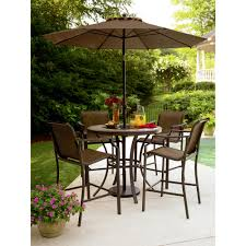 Patio Height Dining Set - garden oasis patio furniture beautiful better homes and garden