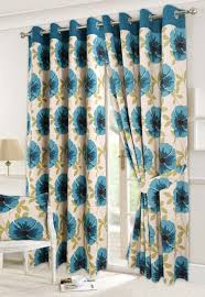 Duck Egg Blue Floral Curtains Blue Floral Curtains