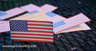 Use Flag Notes From A Cottage Industry A Free Printable Itty Bitty Red