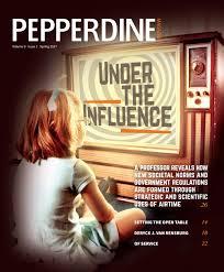 The Open Table Pepperdine Magazine Vol 9 Iss 1 Spring 2017 By Pepperdine