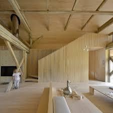 ofis arhitekti by alpine barn apartment
