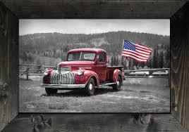 Vintage Ford Truck Art - american made antique truck art lori deiter art usa art