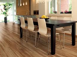 black wood dining room table best luxury vinyl wood plank flooring for modern minimalist