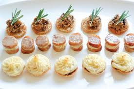 canape cottage wedding catering cornwall