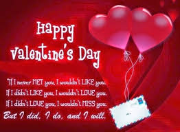 happy valentines day sms 2018 messages for him