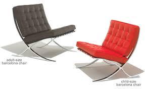 Barcelona Chairs For Sale Child U0027s Barcelona Chair U0026 Stool Hivemodern Com
