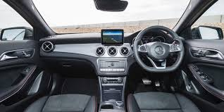 hatchback cars inside mercedes gla review carwow