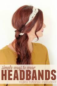 25 best headband hairstyles ideas on pinterest headband updo