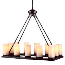 lighting over the farmhouse table the winner rectangular