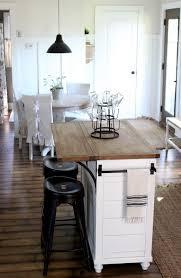 folding island kitchen cart best 25 drop leaf kitchen island ideas on kitchen with