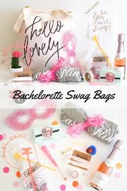 bachelorette gift bags the cutest bachelorette party swag bags bachelorette party