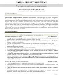 sales profile resume sample resume samples for sales and marketing jobs resume samples