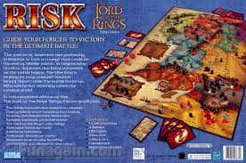 entire middle earth map lord of the rings risk walmart