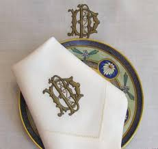 Monogrammed Bathroom Accessories by Dining Room Exciting Monogrammed Napkins For Inspiring Undercover