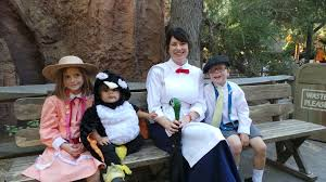 family of five costume idea mary poppins jane banks and more