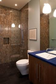 earth tone bathroom designs doorless shower designs bathroom transitional with shower