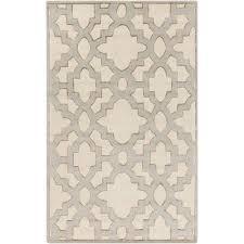 cotton leaf area rugs bellacor