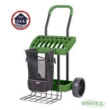 box cart garden tool caddy cart home outdoor decoration