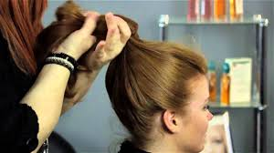 how to do a gibson topknot looks for long locks youtube