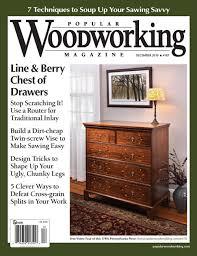 december 2010 187 popular woodworking magazine