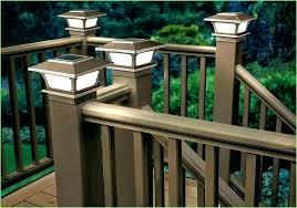 4x4 post cap lights solar cap lights lovely solar post cap lights 4 4 white uk