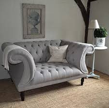 gray chesterfield sofa chesterfield buttoned sofa grey button back sofa 1930s 40s