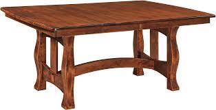 trestle tables trestle dining tables brandenberry amish furniture