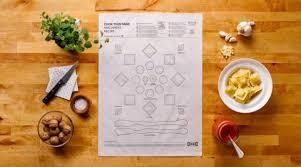 feuille de cuisine ikéa vous propose de cuisiner facilement avec une feuille de papier