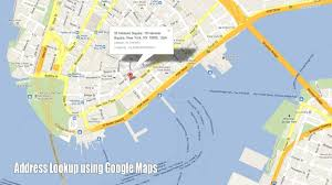G00gle Map Address Lookup Using Google Maps Youtube