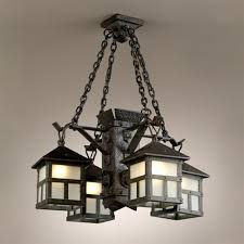 Arts Crafts Lighting Fixtures Vintage Chandelier Antique Lighting And Light Fixtures Intended