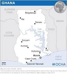 Accra Ghana Map Ghana Location Map 2013 Ghana Reliefweb