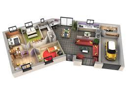 plan de maison en v plain pied 4 chambres incroyable plan de maison en v plain pied 4 chambres 13 plan