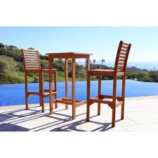 Bar Height Patio Furniture by Bar Height Patio Sets Wayfair